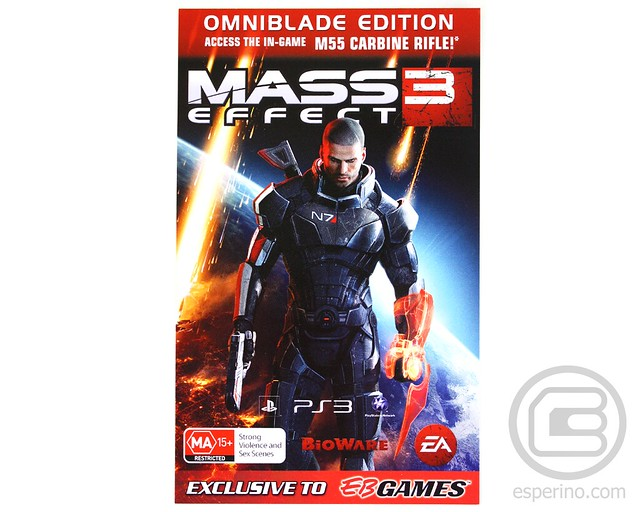 Mass Effect 3 Omniblade Edition Unboxing
