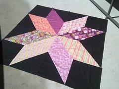 Oversized star quilt