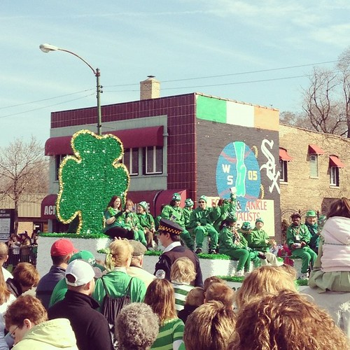 Southside Irish Parade 2012 - Shamrocks a' plenty