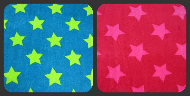 star print velours