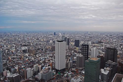 Tokyo views from Tochō