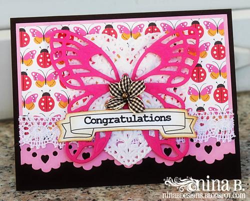 Congrats-butterfly