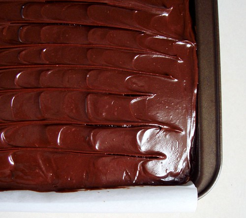 Sour Cream Chocolate Cake: Frosted