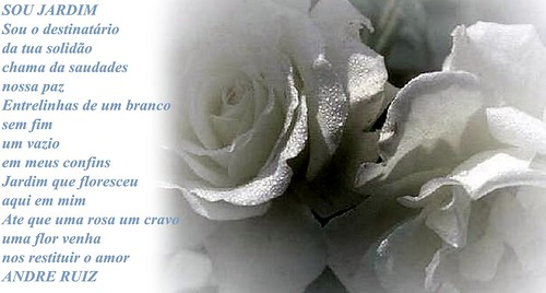 SOU JARDIM by amigos do poeta