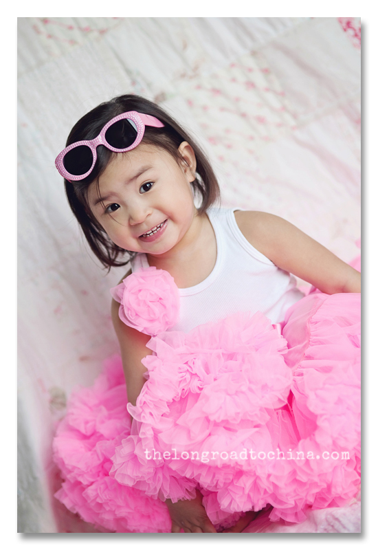 Pink Sunglasses and Ruffles Reagan2 BLOG