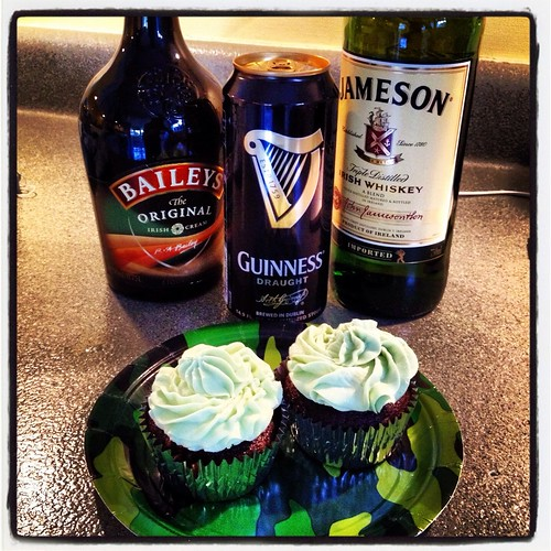 Irish Car Bomb Cupcakes: Even Better Than The Drink
