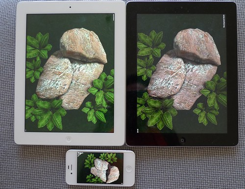iPad3 / iPad2 / iPhone 4S Unity3D test