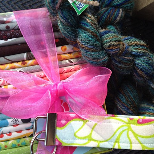 Quilt show loot...  :)