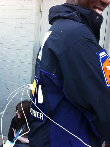 Fedex Guy with Recharge Suit