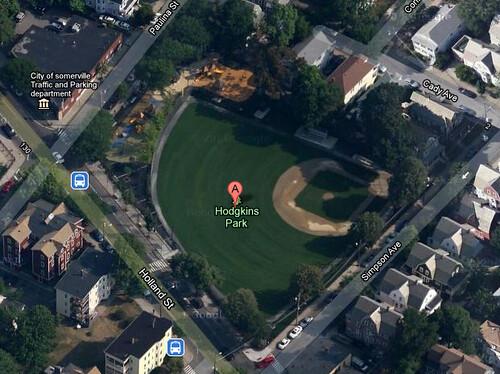Hodgkins Park, Somerville