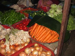 Beautiful produce at Xieng Khuang Market