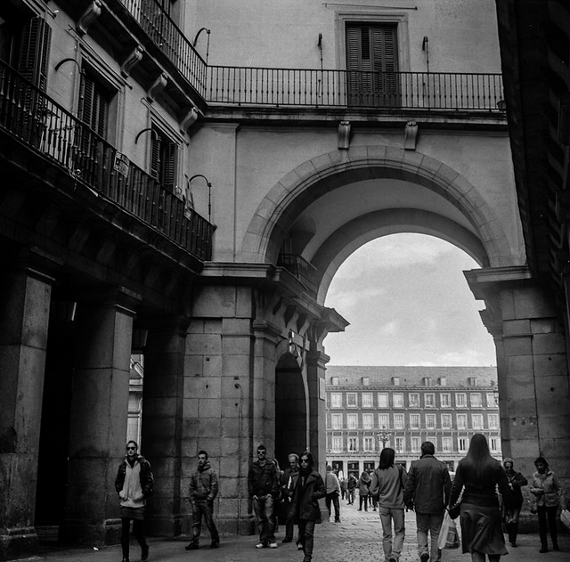 Madrid Arco de la Plaza Mayor