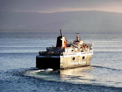Ardrossan-Arran Ferry, Brodick Bay