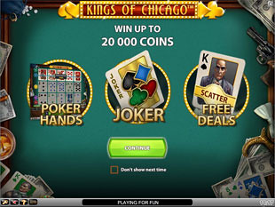 Kings of Chicago bonus game