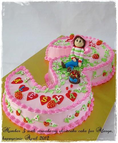 NO 3 cake for Alesya