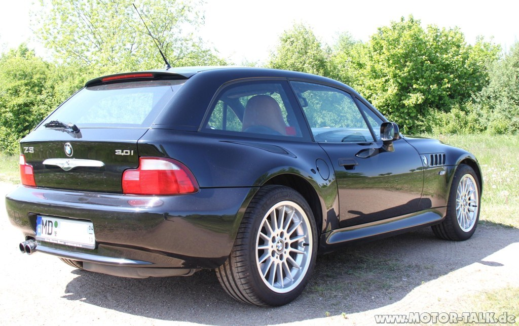 2001 Z3 Coupe Black Sapphire Walnut Coupe