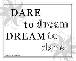 dare to dream poster