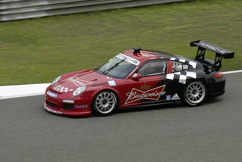 Ho Pin Tung in Porsche Carrera Cup Asia 2012 @ Shanghai Circuit