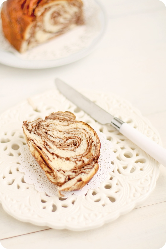 Japanese Chocolate Marble Bread マーブルチョコパン