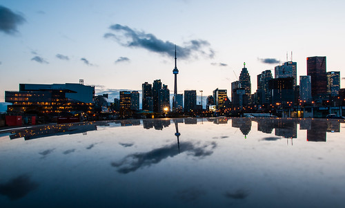 Toronto Zoom Zoom Reflection by PJMixer