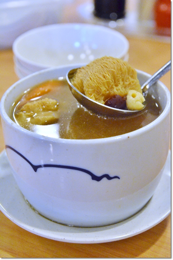 Double Boiled Soup with Monkey Head Mushrooms