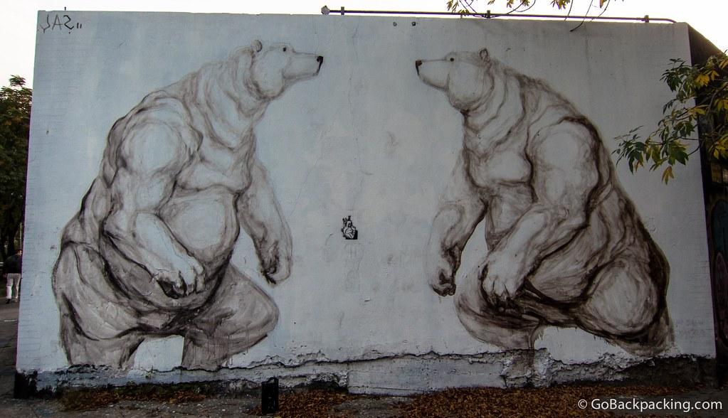 Polar bears by Jaz