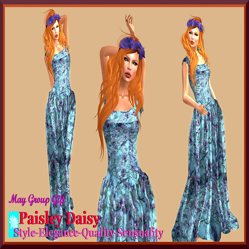 Paisley Daisy  FabFree Designer of The Day - Vendor Shot