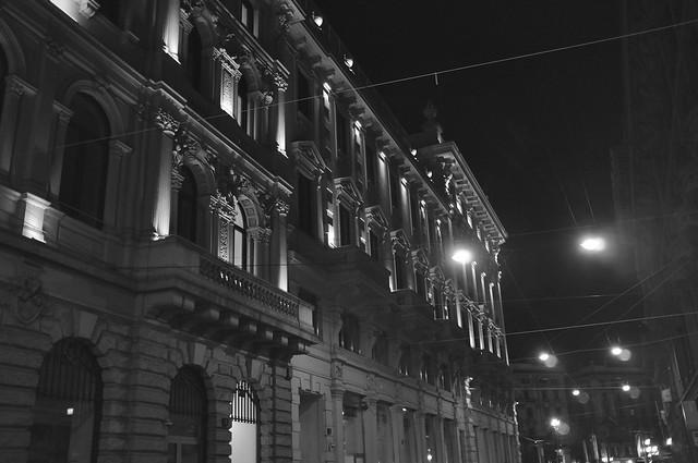 Via Dei Mercanti, Milan, Italy