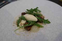 Field Mushroom blue cheese pear and walnut