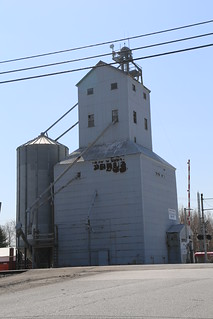 Edgerton Ohio, Grain Elevator, Williams County OH