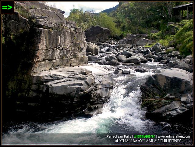 Panaclisan Falls: Licuan-Baay, Abra