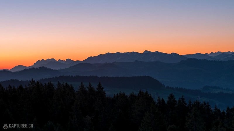 Panorama at dawn - Chuderhüsi