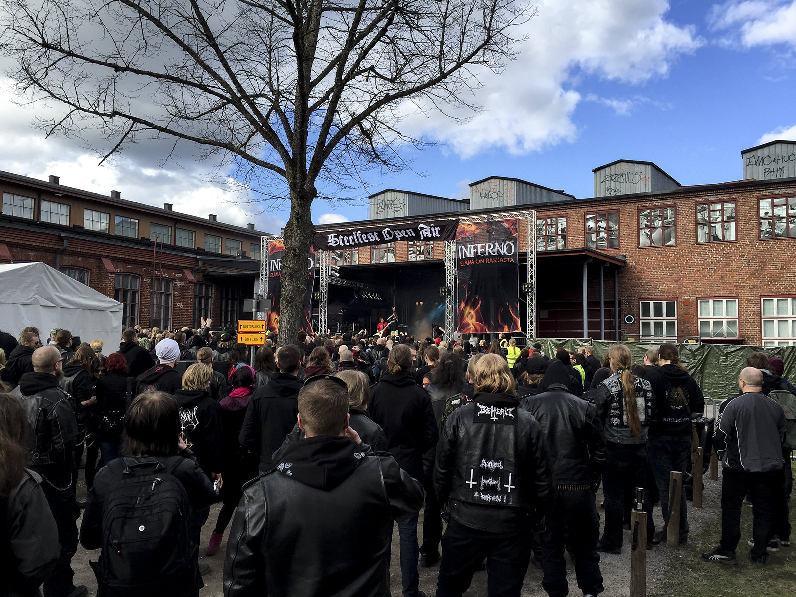 steelfest open air 2015, finnish metal festival, black metal festival, metalliluola