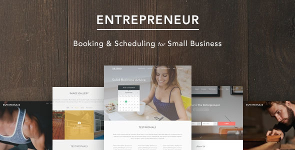 Entrepreneur v1.1.5 - Booking for Small Businesses