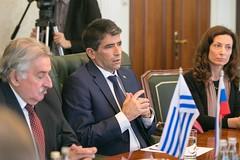 Вице-президент Уругвая, Председатель Генеральной Ассамблеи и Сената Уругвая Рауль Сендик