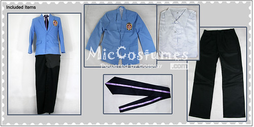 Ouran High School Host Club Cosplay Costume_2