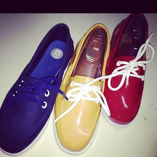 FEB PAD 23/29: Shoes - I like. Soon from Melissa.