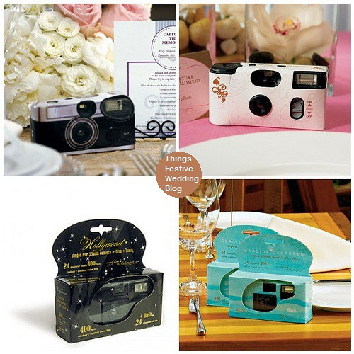 Disposable Camera Wedding Idea: Things Festive Weddings & Events: February 2012