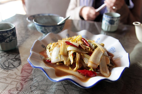 Stir-Fried Cabbage with Chilies