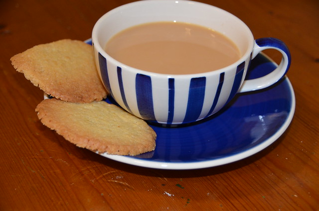 homemade biscuit is perfect with a cup of tea