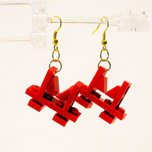 Golden Gate Bridge Earrings 1