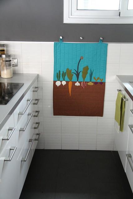 mini quilt de cocina