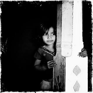 Rathwa tribal girl