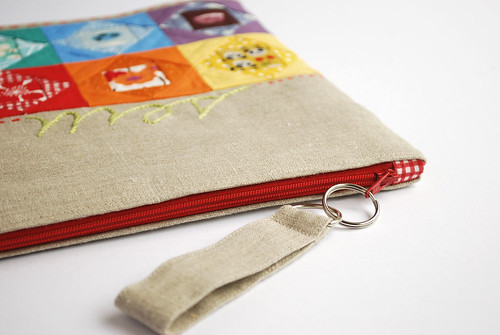 mouthy stitches pouch