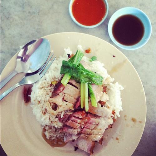 Mega-tasty roast pork, Sky Hotel, Georgetown: