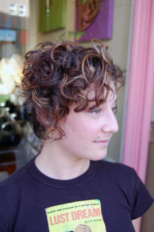 MultiToneCurl | #hair #hairstyle #hairstyles #shorthair #hai ...