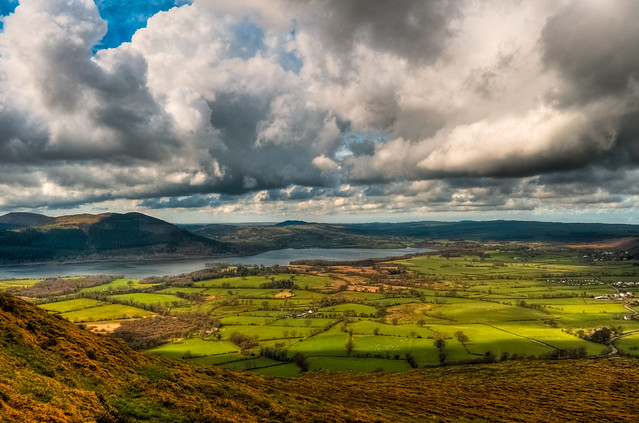 Clouds over Bassenthwaite Lake, Cumbria