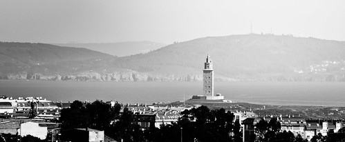 La Torre desde Bens by treboada