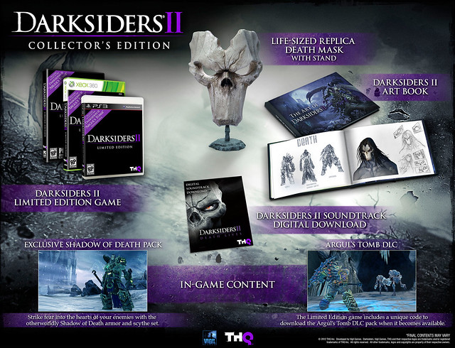 Darksiders II shopTHQ Australian Pre-Order Incentives