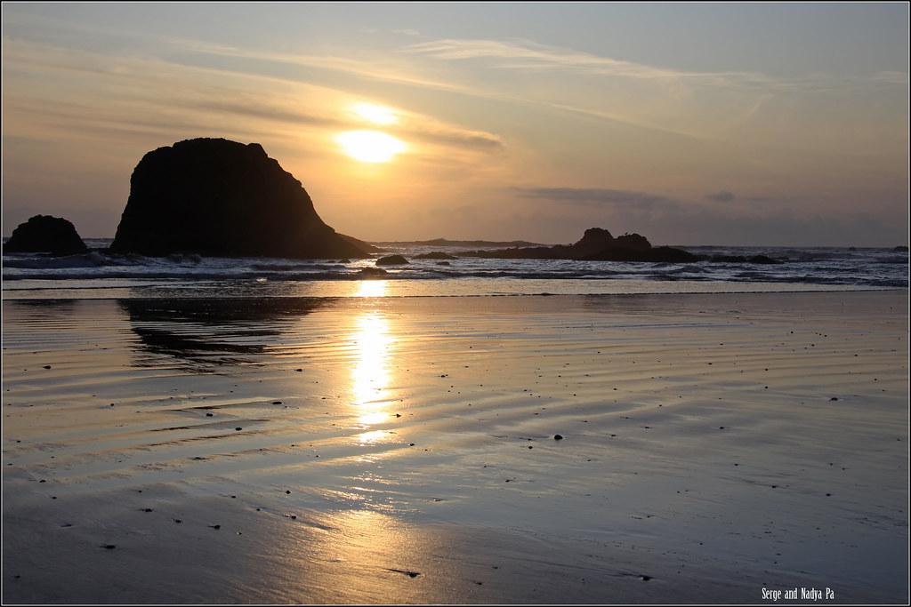 Закат. Ruby Beach - IMG_3603